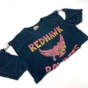 NWT $138 FURST OF A KIND Shirt VTG Redhawks TShirt